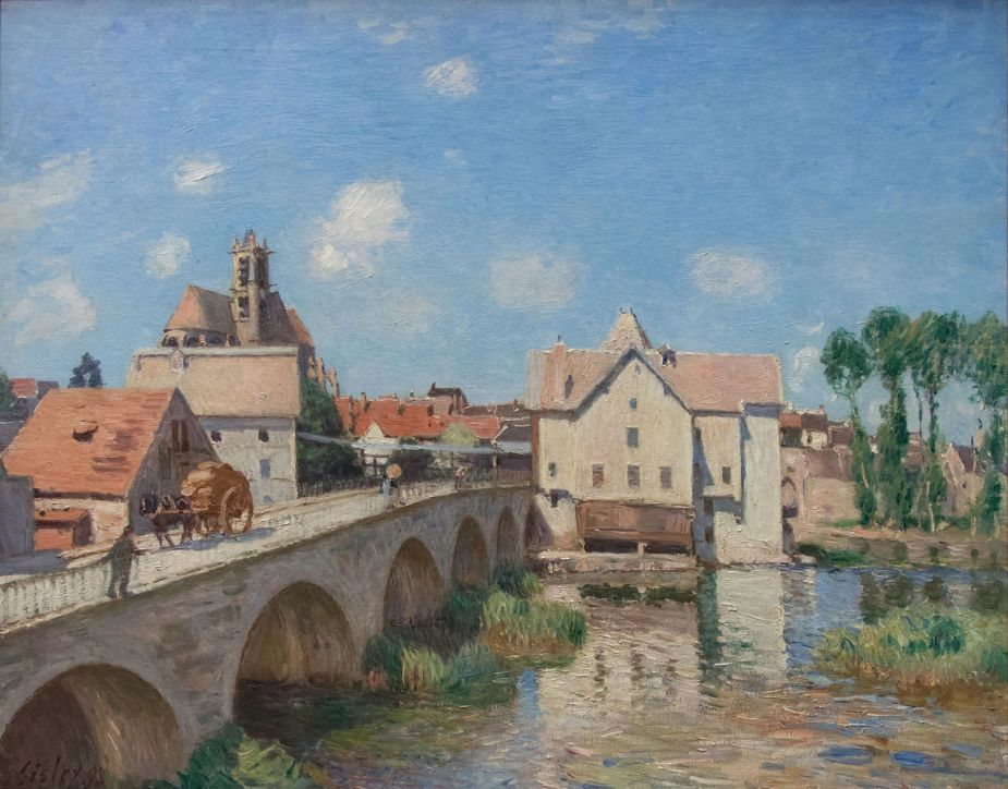 Sisley, Le pont de Moret, 1893