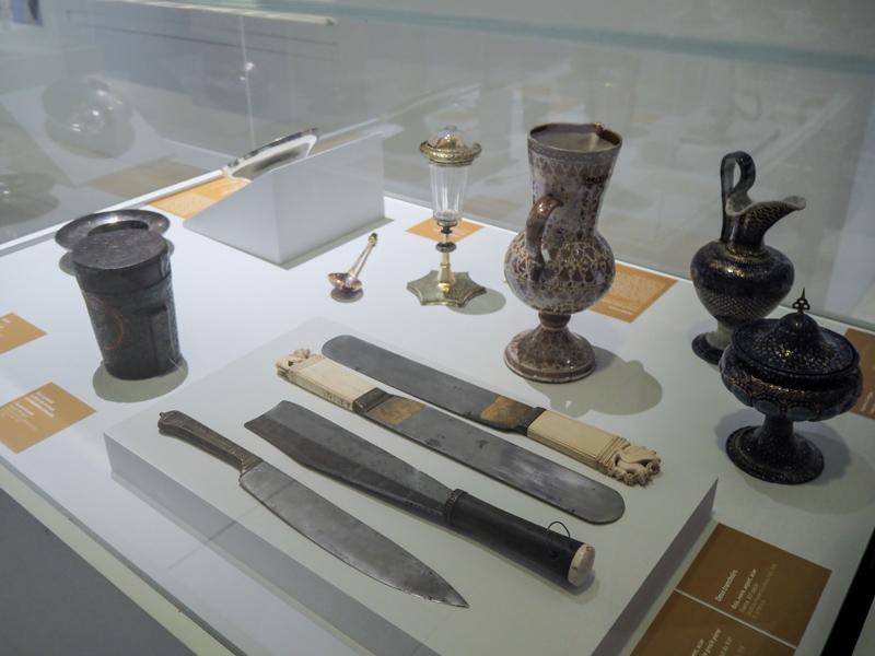 """Exposition """"Regards sur la vie quotidienne' du musée de Cluny - l'art de la table chez les artistocrates"""