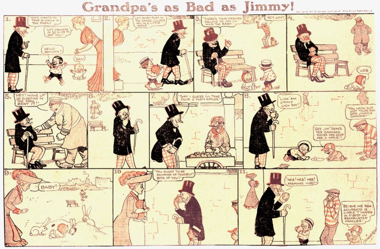 Planche de Little Jimmy - Jimmy Swinnerton