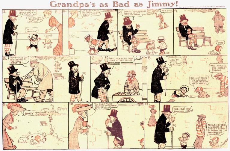 Planche de Little Jimmy - Jimmy Swinnerton
