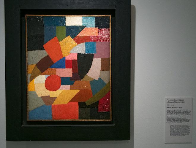 otto freundlich, fragments de figure à l'ensemble des plans de 1927