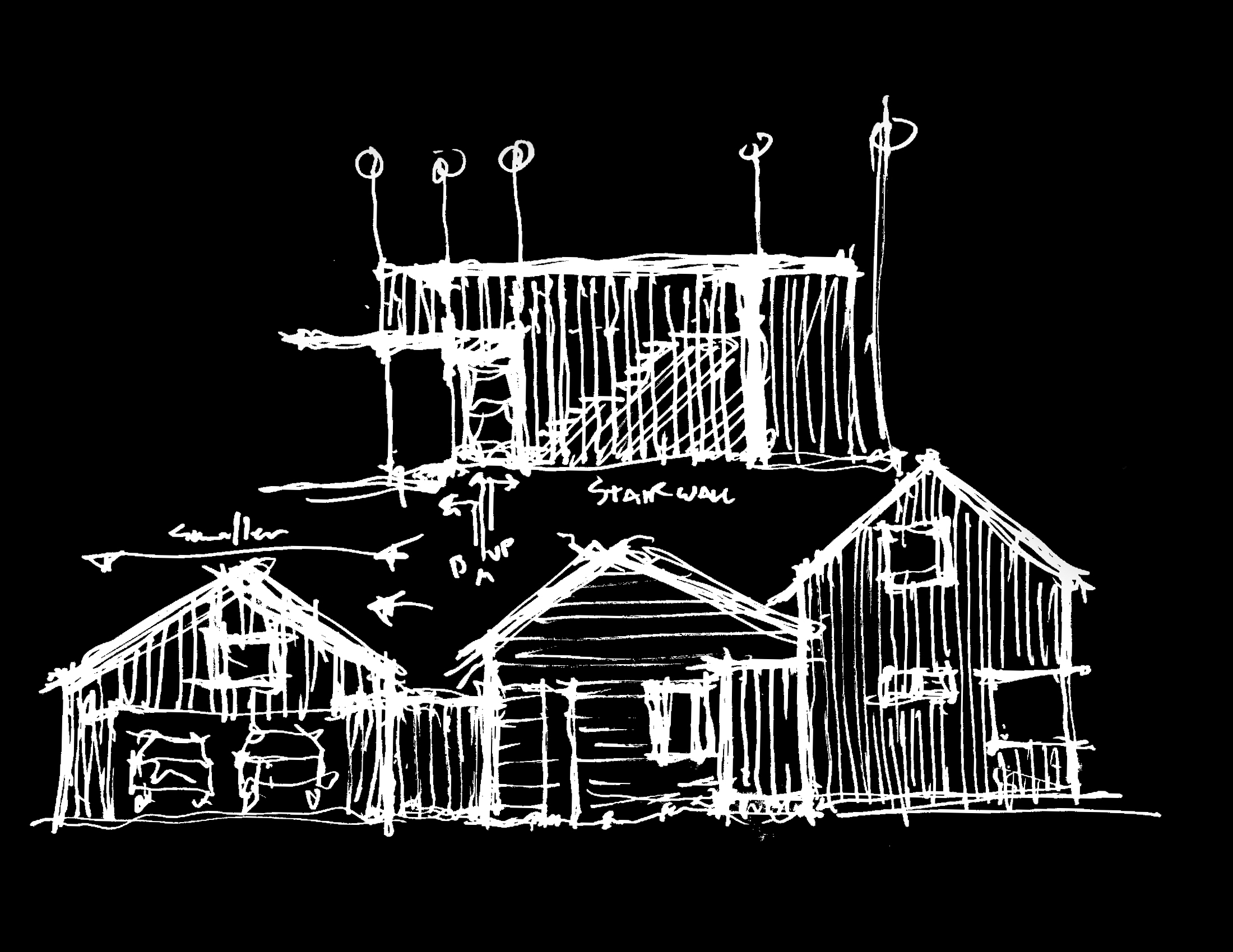 Sketch of Passive House