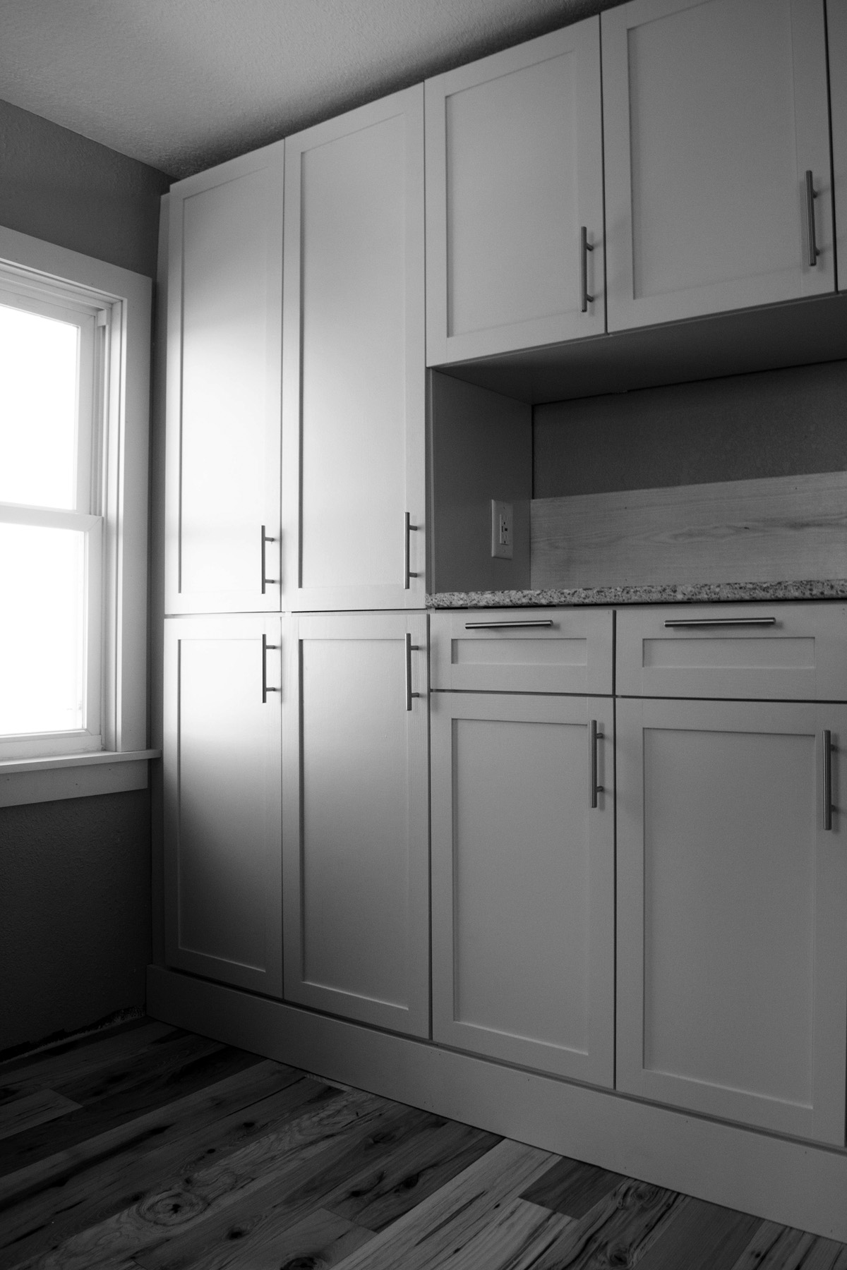 Kitchen cabinets designed and fabricated by Solstice Design Build