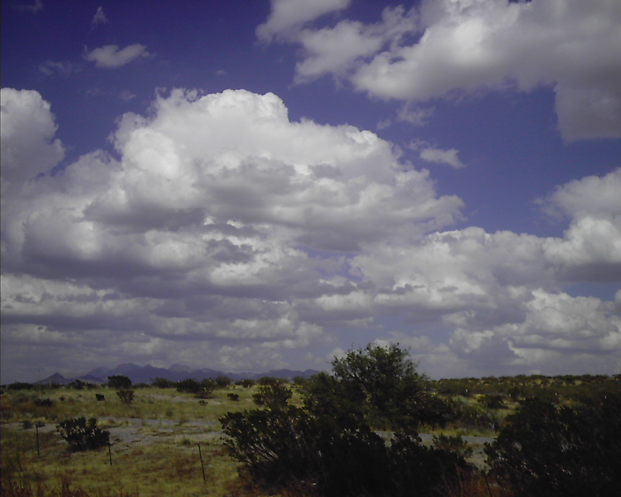 October Sky in New Mexico