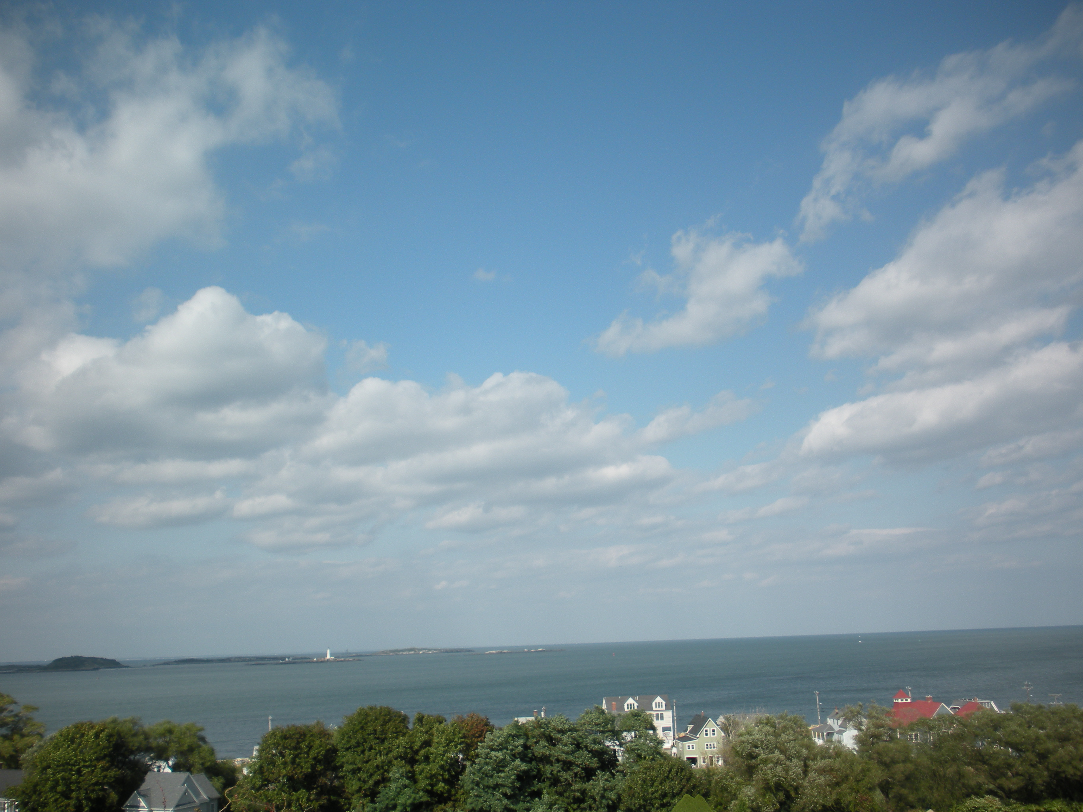 View of Hull from Ft Revere