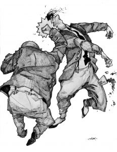 writer-fight