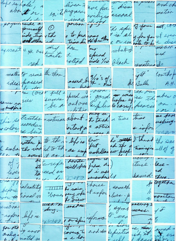 Blue Collage Grid