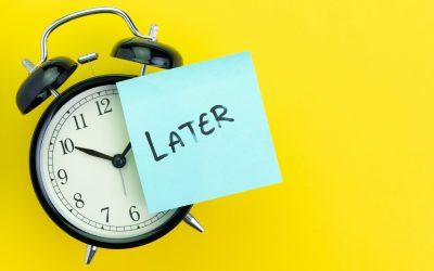 8 Reglas para dejar de procrastinar de una vez por todas
