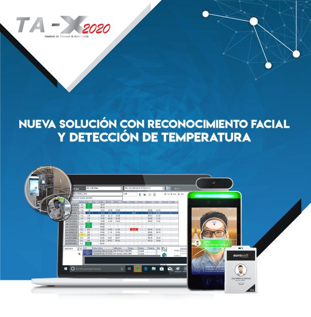 TA-X 2020 control de acceso con torniquetes