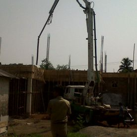 pompa beton long boom murah