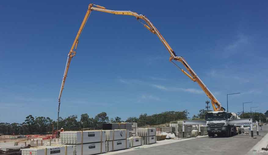 concrete pump untuk beton