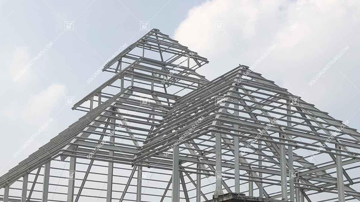 harga atap baja ringan lapis pasir 2020 dan jasa pasang borongan murah per meter