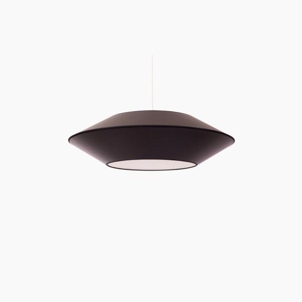 Détails techniques Couleurs : noir Dimensions produits : L.P.H : 36 x 36 x 10 cm Nombre de produits : 1 Ampoule E27 MAX 60W non incluse Référence Noir : SUSP.OVNI3.ALZ520/GLD