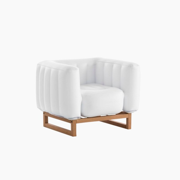 Revendeur de Mojow solution design fr mobilier assises fauteuil yomi wood blanc opaque