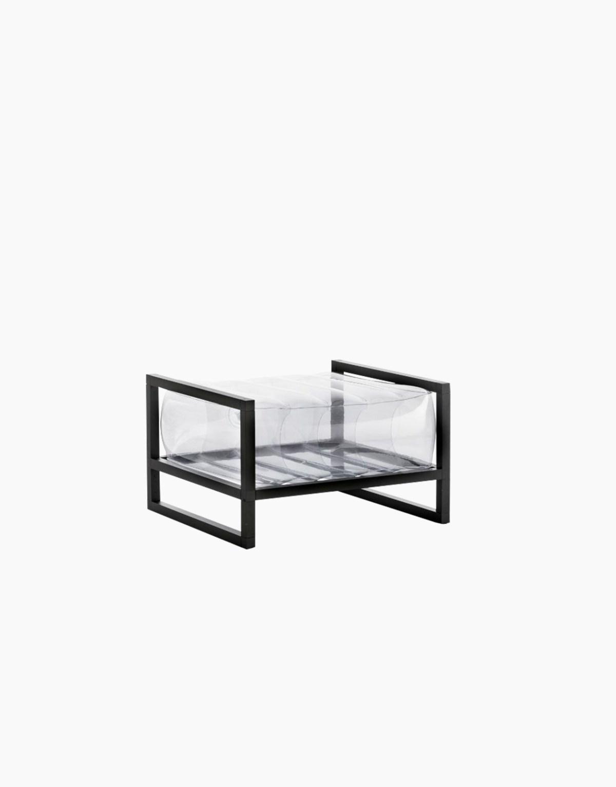 Revendeur de Mojow solution design fr mobilier assises fauteuil Yoko transparent