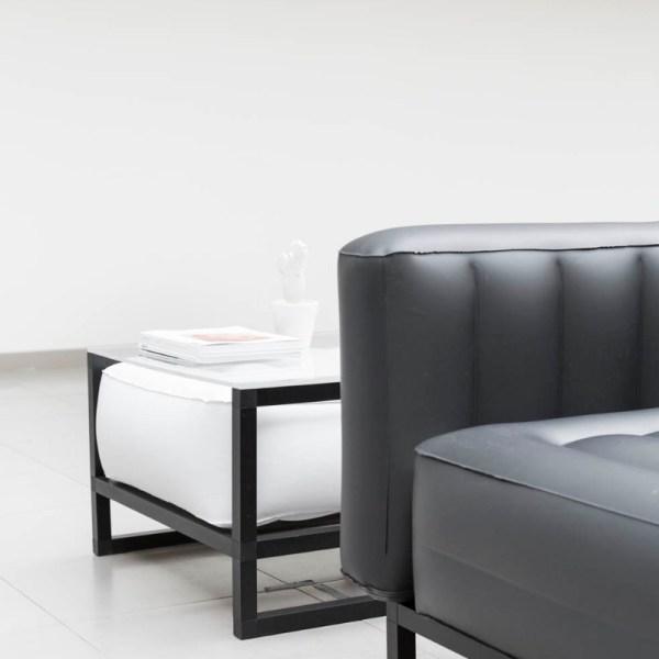Revendeur de Mojow solution design fr mobilier assises fauteuil Yoko blanc opaque
