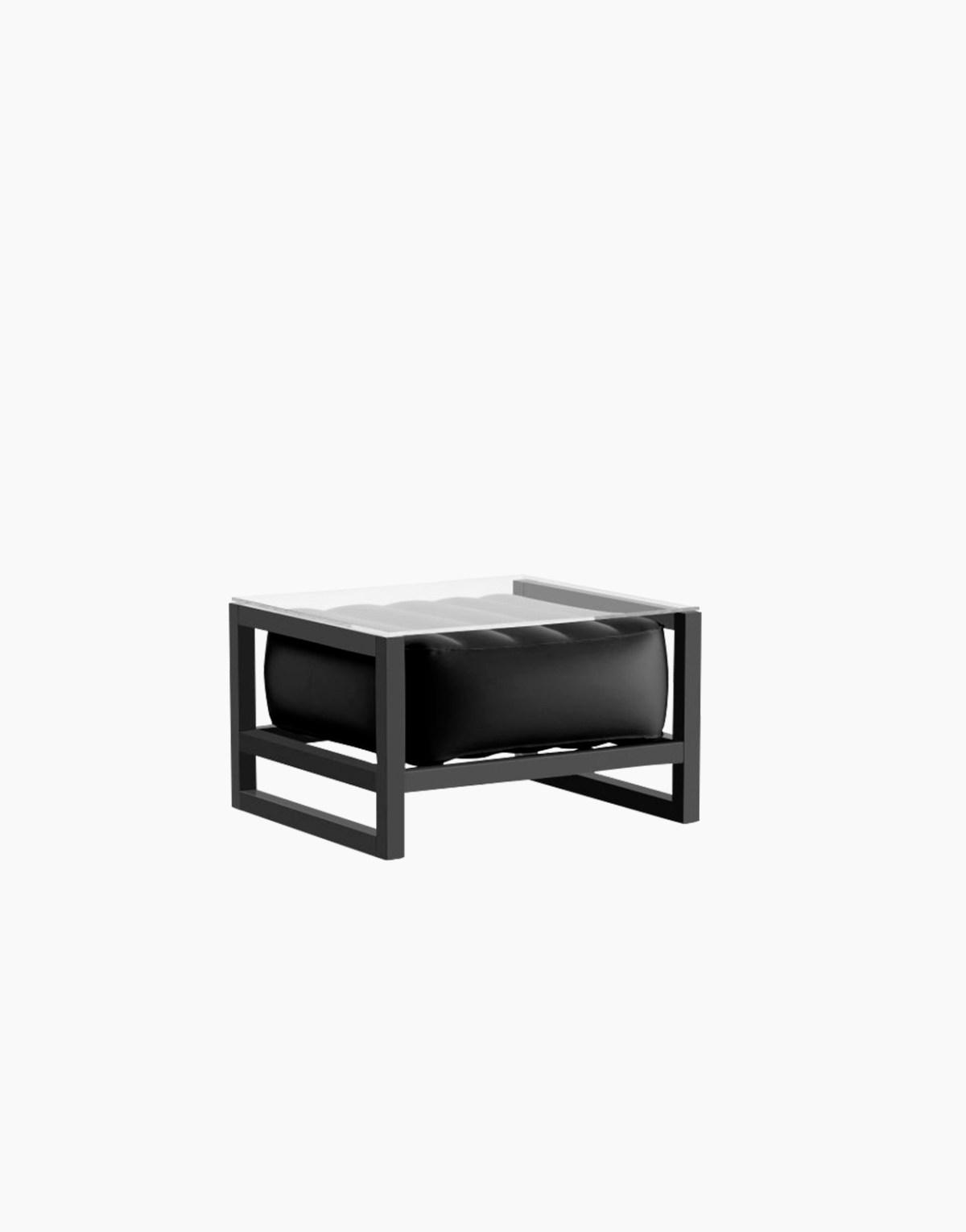 Revendeur de Mojow solution design fr mobilier table basse Yoko noir opaque