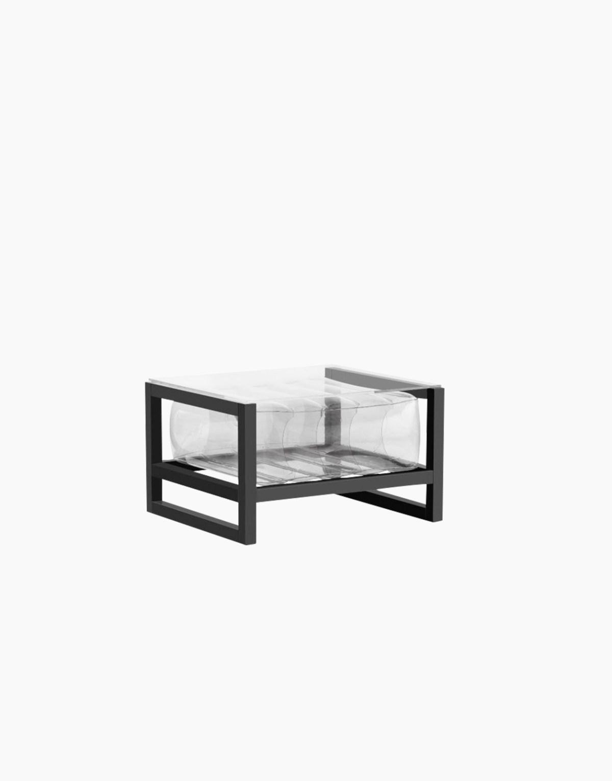 Revendeur de Mojow solution design fr mobilier table basse Yoko transparent