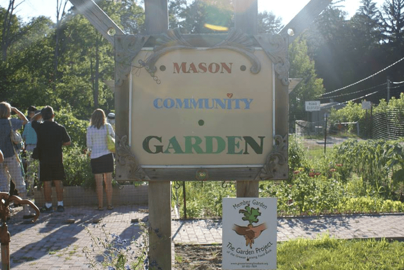 Food bank fosters creation of hundreds of gardens in community