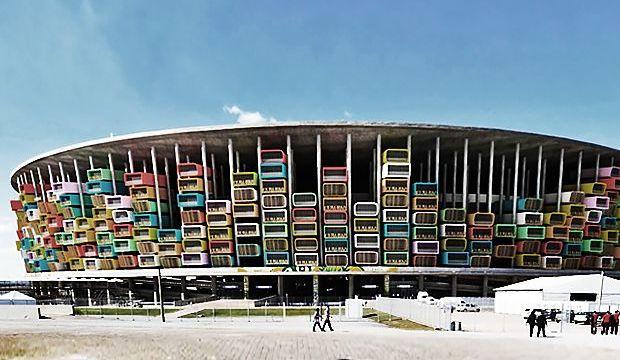 transform unused soccer stadiums into public housing