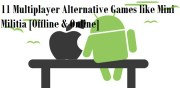 Coronavirus: 11 Multiplayer Alternative Games like Mini Militia [Offline & Online]