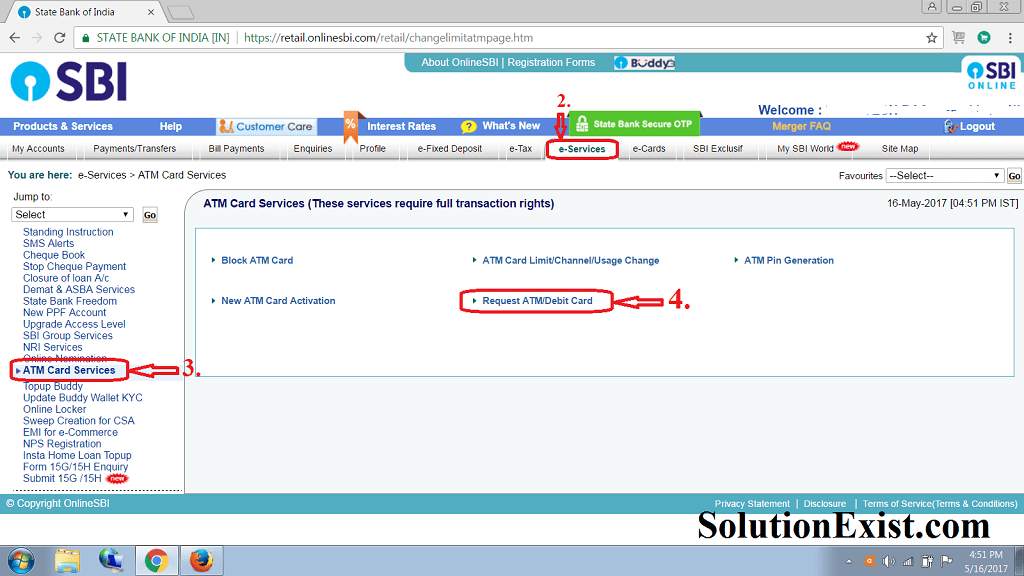 Sbi new account apply online / Pay prudential online