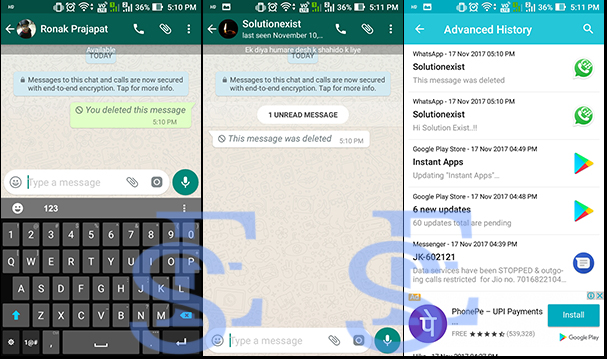 read deleted message on whatsapp,recover deleted whatsapp message,delete for everyone whatsapp,read deleted whatsapp message on whatsapp,whatsapp tricks,dual whatsapp