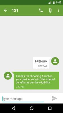 Aircel free Data offer 2017