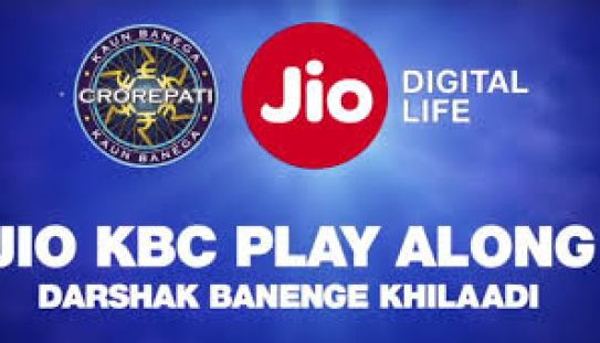 Jio KBC Play Along Contest for jio users