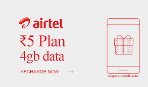 How to Activate / Recharge Airtel Rs 5 plan for 4 GB data