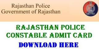{ New } www.exampolice.rajasthan.gov.in Admit Card 2018 download