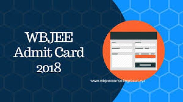 wbjeeb.nic.in, wbjee.nic.in Admit Card 2018 Download
