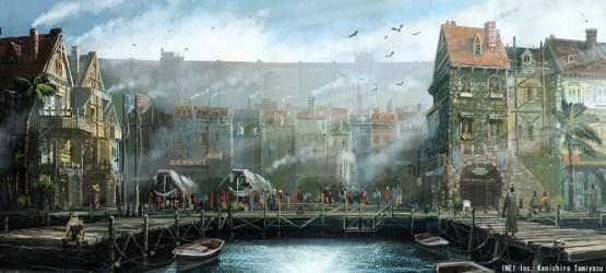 D&d Coastal City Art 1