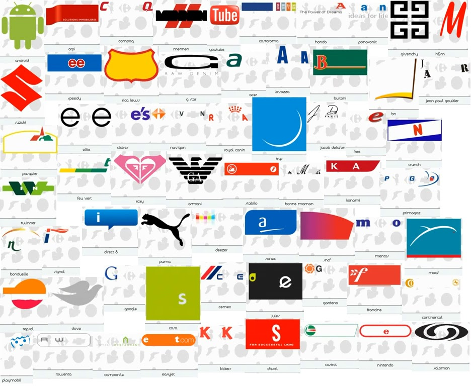Logos Quizz France Niveau 6 : Solutions