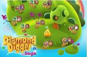 solution diamond digger saga niveau 206
