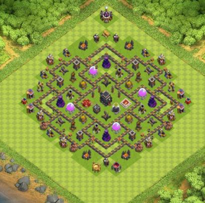 village clash of clans hdv 9 coc solution jeux mobile. Black Bedroom Furniture Sets. Home Design Ideas