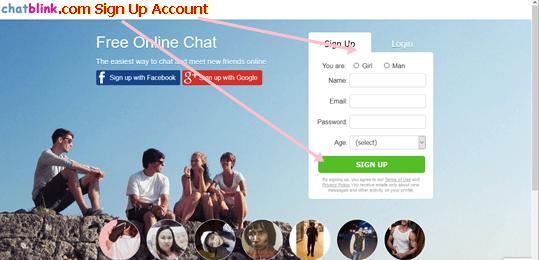 ChatBlink.com Signup | ChatBlink.com Registration – Chatblink Sign in Account