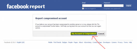 How To Report Compromised Account To Facebook