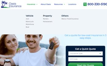 Oasis Insurance Login