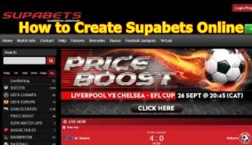 How to Create Supabets Online | Supabets Login – www.supabets.com