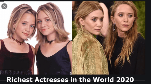 20 Richest Actresses in the World 2020 and Their Net Worth