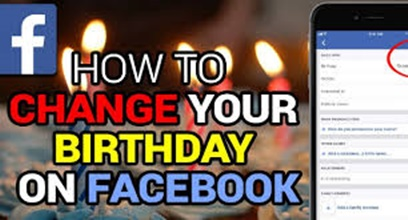 How To Change Your Birthday On Facebook – Change Birthday In Facebook /Add New Birthday On Facebook