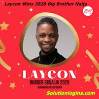 Laycon Wins the 2020 Big Brother Naija Season 5 lock Down