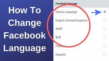 Facebook Language Translation – How To Change Facebook Language
