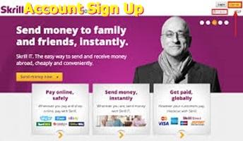Skrill Account Sign Up  | Skrill.com Login – How to Create Skrill Account, Verify, Transfer and Receive Money