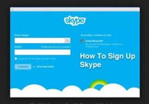 Skype Account Sign Up | Skype Account Login  – How To Create Skype Account