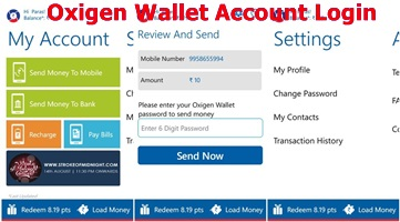 Oxigen Wallet Account Login – How to Transfer and Receive Money