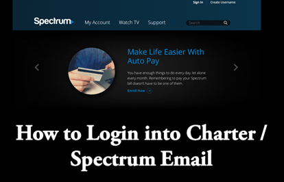 Charter Spectrum Email Sign In Page -www.spectrum.net Login