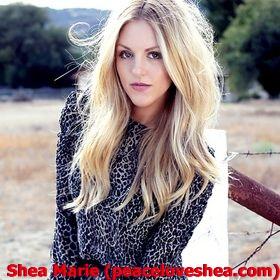 Shea Marie (peaceloveshea.com) – Most Popular Female American Bloggers