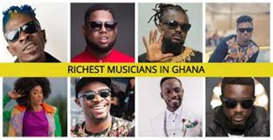 Top 20 Richest Musicians in Ghana 2021 and Their Networth